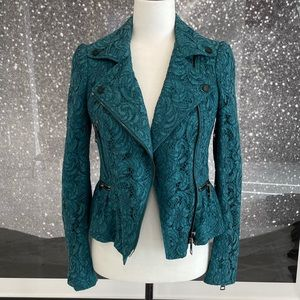 Burberry Lace Moto Jacket